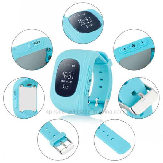 Kids Safety GPS Tracker Watch with Sos Button Y2 pictures & photos