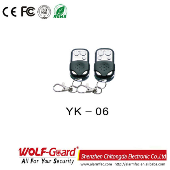 Yk-06 Matel Wireless Alarm System Remote Control pictures & photos