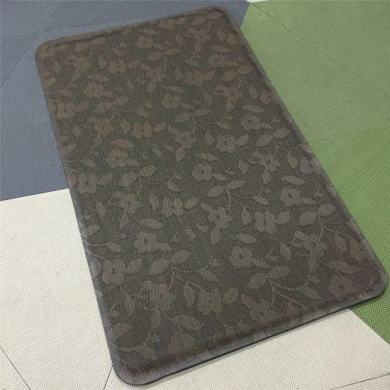 Anti Slip Custom Comfort Vinyl Anti Fatigue Mat Cheap Kitchen Mats