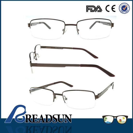 Om134218 Half Metal Optical Frames for Reading Glasses Canada