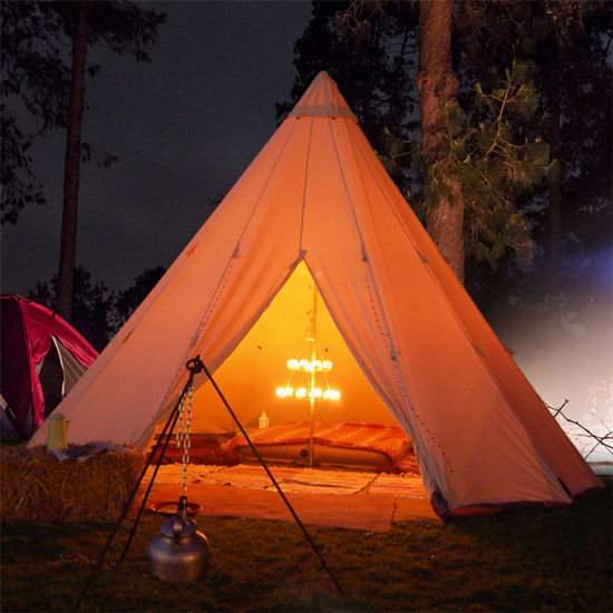 Outdoor C&ing Teepee Tent Tipi Family Dome Tent Portable Pop up Tipi Tent : pop up teepee tent - memphite.com