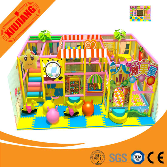 Xiujiang 2015 Plastic Commercial Indoor Playground for Shopping Mall (XJ5064)