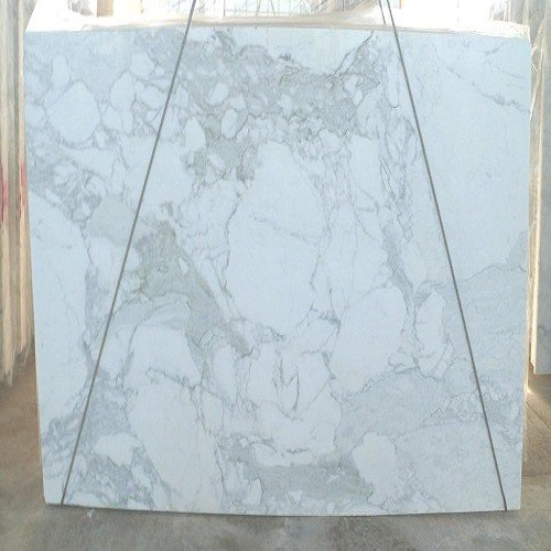 Polished Marble Slabs Calacatta Top for Flooring / Wall