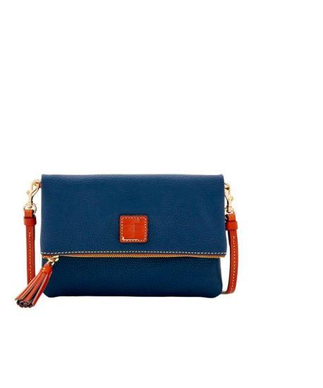 China Fashion Foldover Zip Crossbody Bag Contrast Color Handbag ...