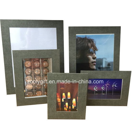 China 85 X 11 Textured Color Paper Photo Frame China Photo
