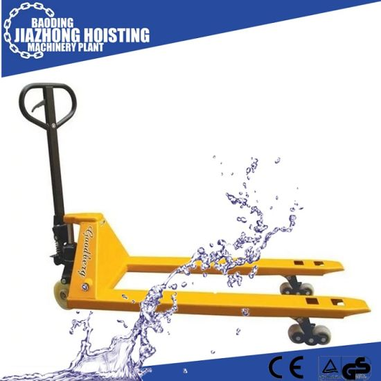 China Hot Sale Load Capacity 5t Hand Pallet Truck China