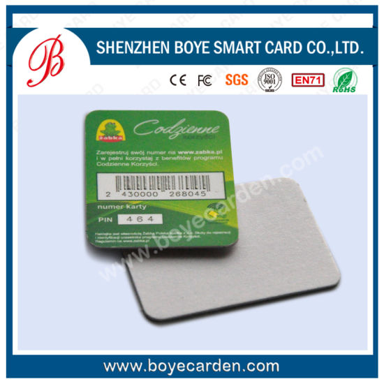 13.56MHz Contactless PVC S50 Smart Card pictures & photos