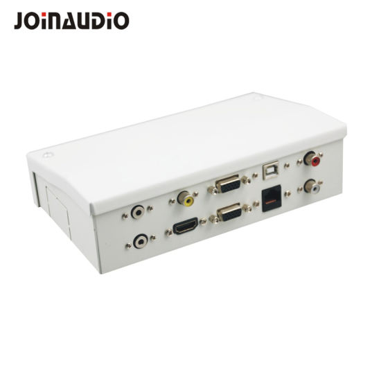 Connectivity Box Cable Box Tabletop Socket HDMI USB Adaptor (9.2120)
