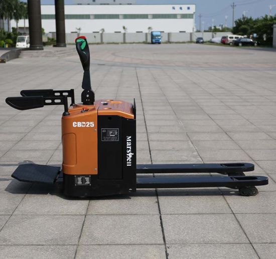 Electric Motor Lift Drive/Actuation Electric Pallet Truck (CBD25) pictures & photos