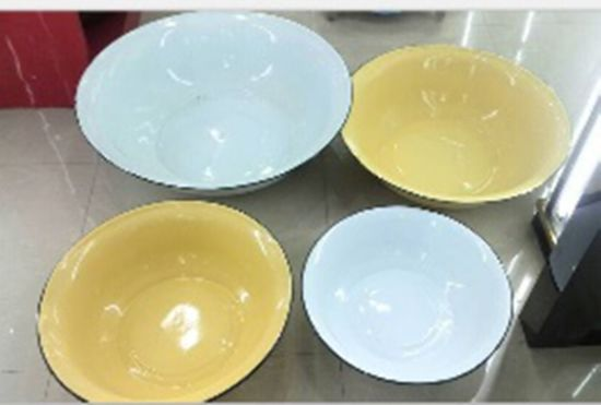 2015 Simple High Quality Wholesale Enamel Basin pictures & photos