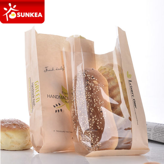 Printed Decorative Grease Proof Paper Bag pictures & photos
