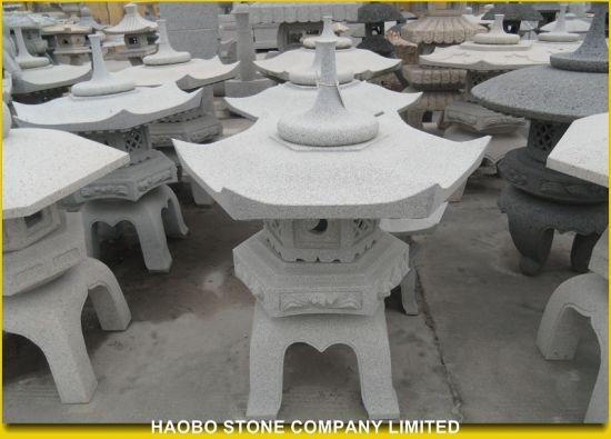 Japanese Garden Pagodas, Stone Lantern