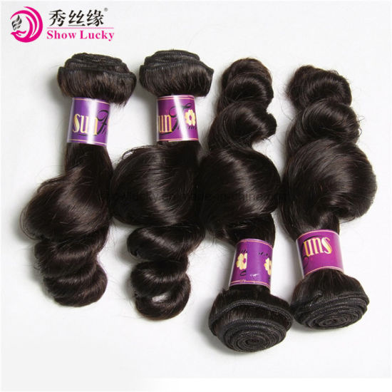 New Hair Style Virgin Chinese Human Hair Extension 400g Remy Hair Loose Wave Can Dye pictures & photos