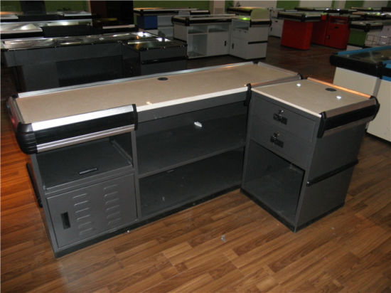 Retail Store Checkout Counter/Checkout Counter for Supermarket Equipment pictures & photos