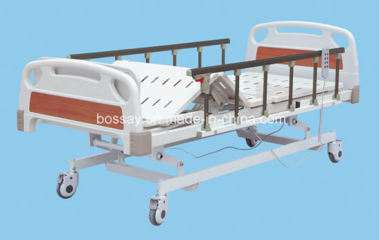 Nursing Bed Three Functional Electric Hospital Bed pictures & photos