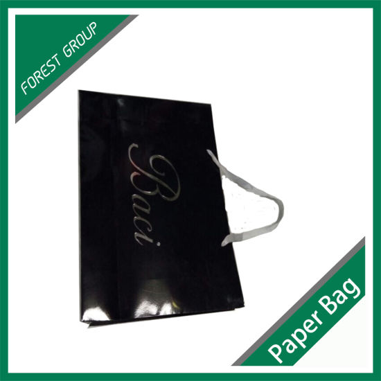 Custome Logo Printed Shopping Gift Paper Bag with Handle pictures & photos