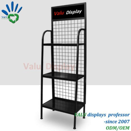 China Metal Display Rack, Engine Oil Display Shelf
