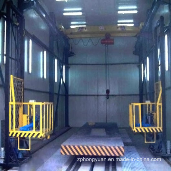 Bus Paint Booth with 3-D Lift for Sale