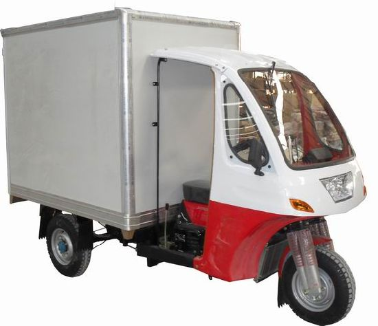 Container Three Wheel Motorcycle