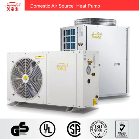 3kw Domestic Evi Air Source Heat Pump For House Heating/Hot Water