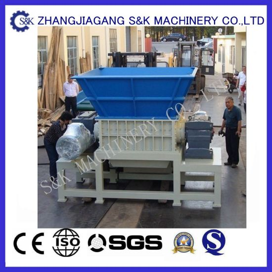 Heavy-Duty Double Shaft Plastic Shredder pictures & photos