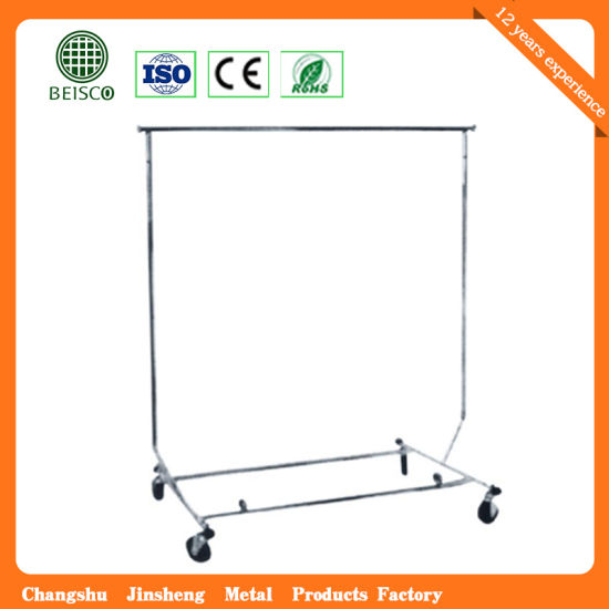 Metal Outdoor High Quality Display Clothes Stand