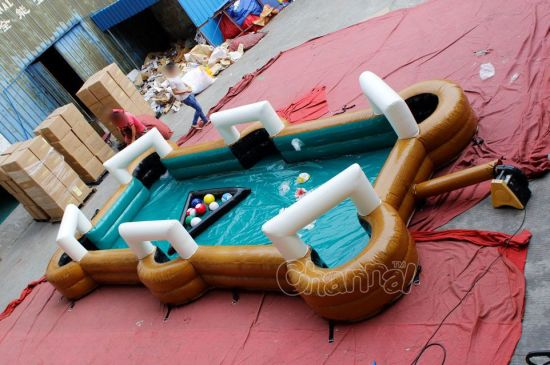 Inflatable Foot Snookball Game Chsp519b pictures & photos
