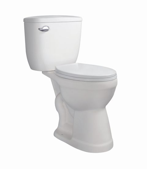 Cupc Siphon Two Piece S-Trap 300mm Ceramic Ada Height Toilet