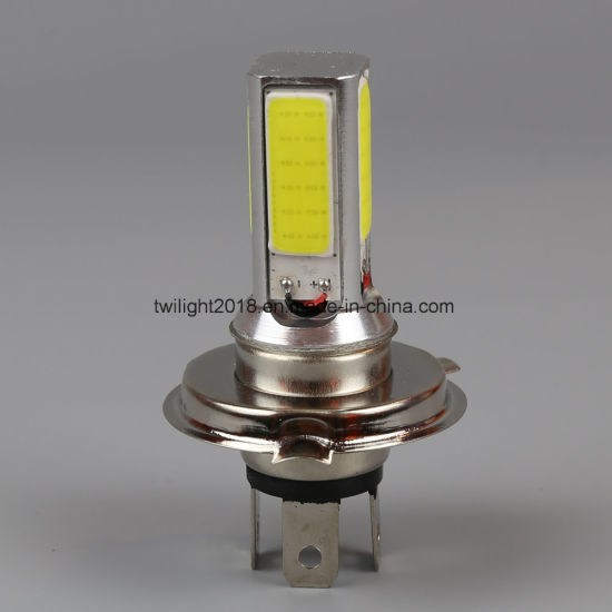 H4 P43t-4COB-24W LED Auto Bulb Head Lamp