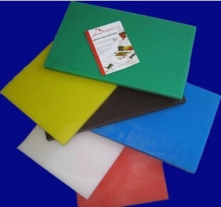 Plastic Colorized Chopping Board Cutting Board for Kitchen