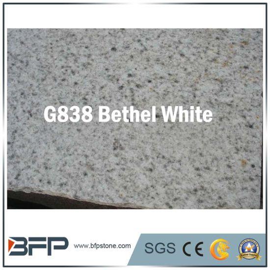 Natural Stone America White Grey Granite Floor Tile Slab