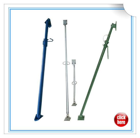 Adjustable Galvanized Painted Scaffold Shoring Jack/Formwork Push Pull Scaffolding Steel Prop