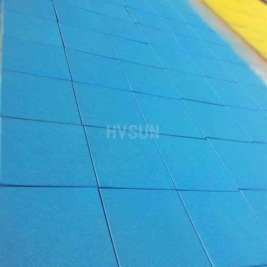 En1177 Fall Height Safety Rubber Flooring Tiles for Children Playground Soft Mats