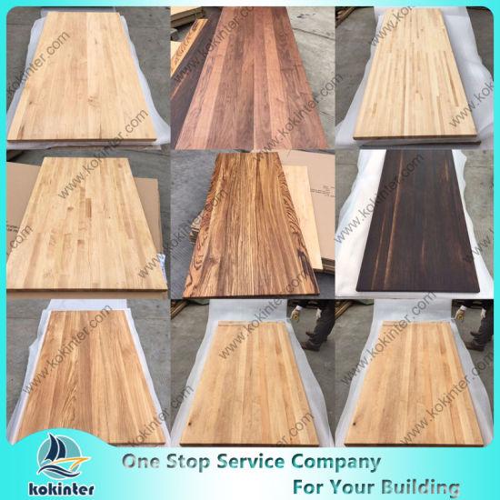 Various Woods Butcher Block Countertop Table Top Bar Top Worktop