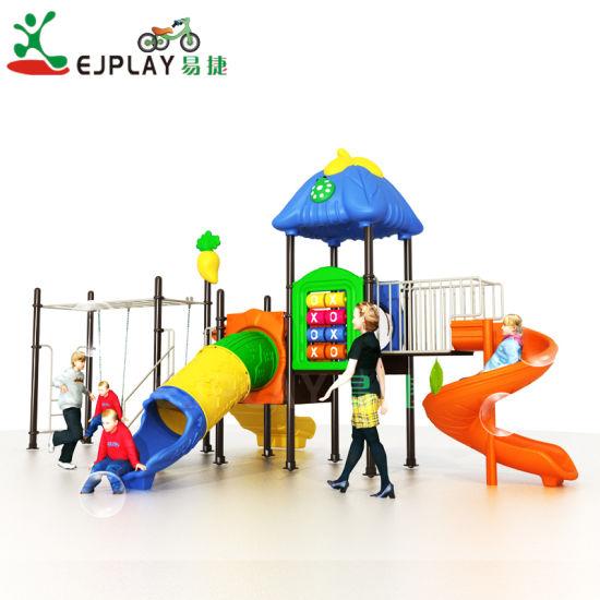 Kindergarten Children Outdoor Playground Gym Plastic Exercise Playground Equipment Plastic Outdoor