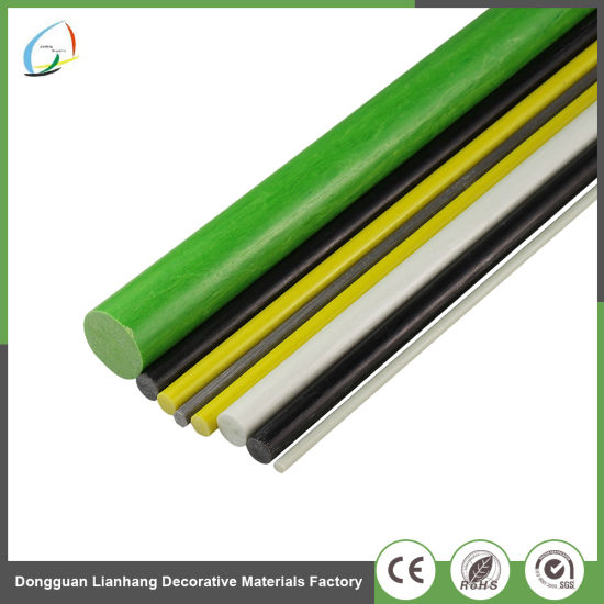 6mm Thickness FRP Insulation Flexible Fiberglass Rod for Bow