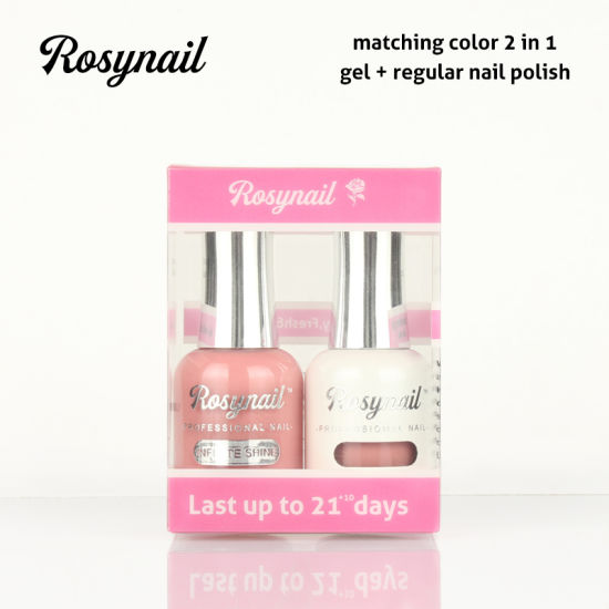 Private Label 2 In 1 Color Matching Uv Gel Nail Polish