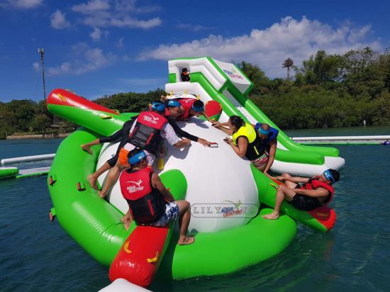 Large Inflatable Water Park Floating Water Games Play in The Water pictures & photos