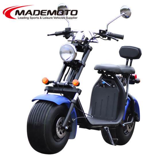 Hot Citycoco 2 Wheel Mobility Scooter Lithium Battery Eec Pictures Photos