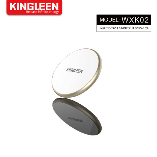 Qi Universal Wireless Charger Charging Pad for iPhone Xs, Xs Max Samsung Galaxy S9, S9+ Huawei pictures & photos