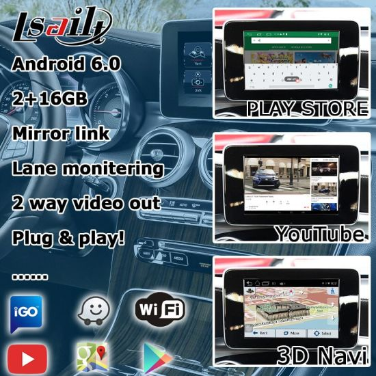 China Android GPS Navigation System for Mercedes Benz Glc