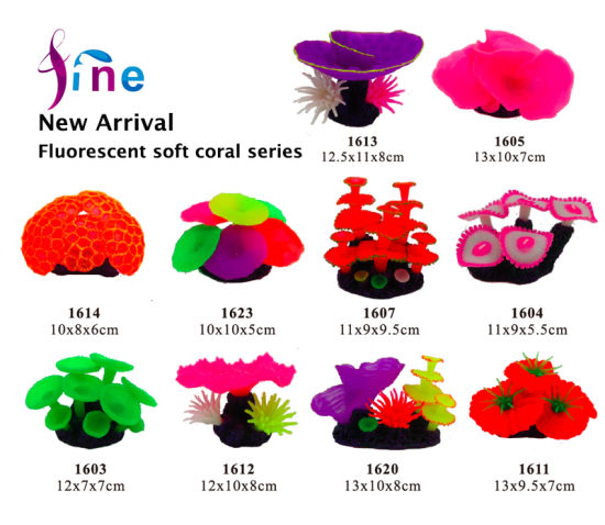 New Arrival Soft Coral Series for Aquariums and Fish Tanks pictures & photos