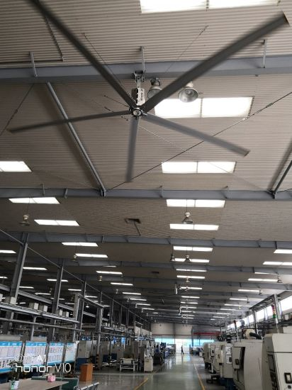 Big Industry Warehouse Cooling Ceiling Fan China