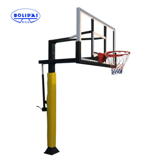 Factory Selling Steel Underground Outdoor Basketball Hoop pictures & photos