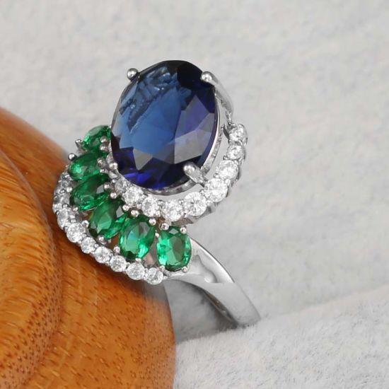 Latest Designs 925 Italian Silver Finger Ring Women Wedding Jewelry Rings