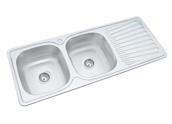 China Economic Price Stainless Steel Kitchen Sink with ...