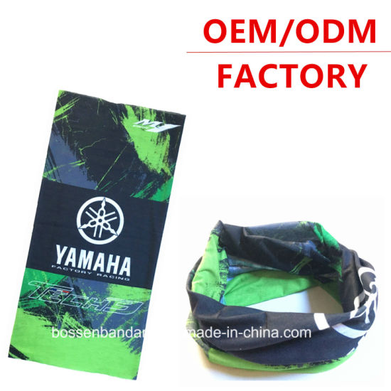 China Factory OEM Produce Customized Green Sports Polyester Neck Tube Bandana pictures & photos