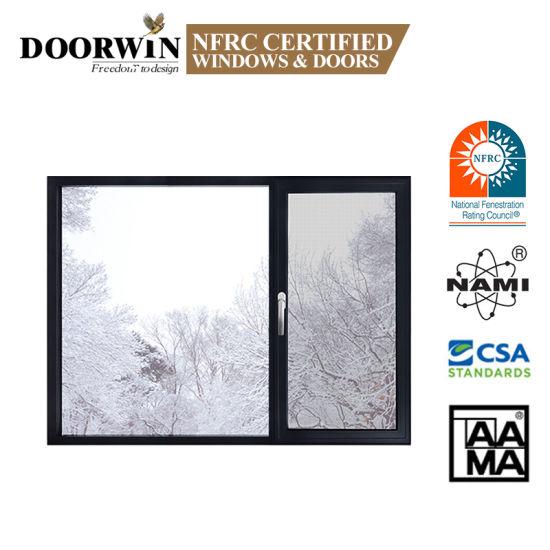 Doorwin Tilt and Turn Window with Igcc Standard Glass