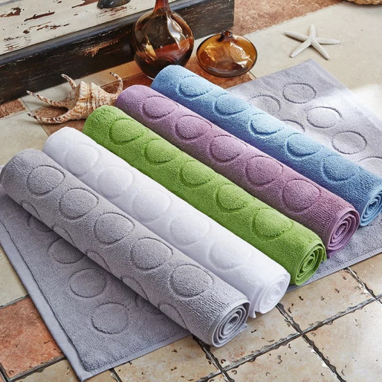 High Quality Cotton Bath Mat From China Supplier pictures & photos