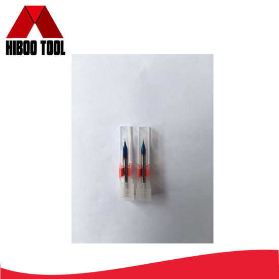 China Factory Outlet Carbide Micro Two Flutes Flat End Mill pictures & photos
